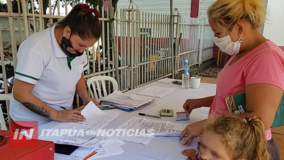 JORNADA DE CONTROL DE CORRESPONSABILIDAD DE FAMILIAS TEKOPORÃ EN SAN JUAN DEL PARANÁ