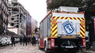 Al menos tres fallecidos y 11 heridos tras fuerte explosión en edificio de Madrid