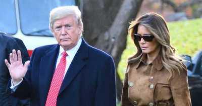 """Las últimas horas de Trump en la Casa Blanca: cientos de indultos y afirmando que volverá """"de alguna manera"""""""