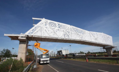 HOY / Empresa que construyó la pasarela de oro estaba suspendida 60 meses