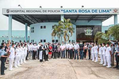Hospital regional de policía suma seis nuevas camas de terapia intensiva al sistema de salud