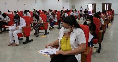 La Nación / Exitosa culminación del único examen de admisión para residencias en el Hospital Militar y de Clínicas