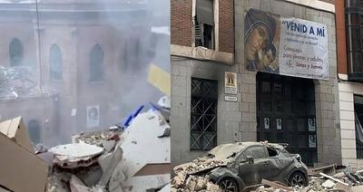 """HOY / Sacerdotes paraguayos se salvan """"de milagro"""" tras explosión en un edificio en Madrid"""