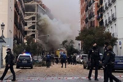 Sacerdote paraguayo presenció estallido de edificio en Madrid, confirman