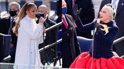 HOY / Jennifer Lopez y Lady Gaga deslumbran en la investidura de Biden