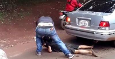 CDE: identifican y ordenan detención del agresor del menor limpiaparabrisas