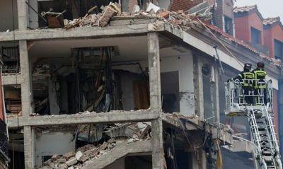 Sacerdote paraguayo quedó atrapado en el edificio que registró una explosión en Madrid