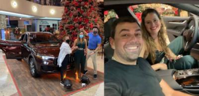HOY / Sorteo amañado: shopping retira camioneta que ganó esposa de Marco Trovato