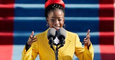 La Nación / Joven poetisa negra causa sensación en la investidura de Biden en EEUU
