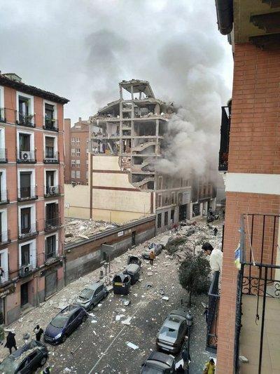 """Sacerdote paraguayo en Madrid: """"Lo que era mi vivienda desapareció tras la explosión"""""""