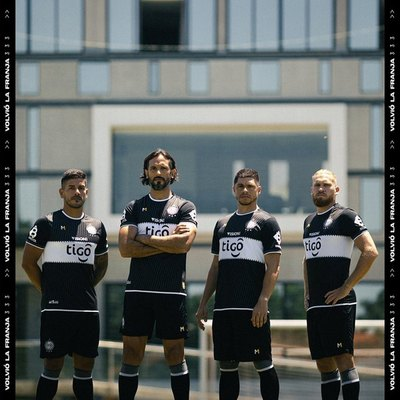 Vuelve la 'franja blanca': La nueva camiseta alternativa de Olimpia