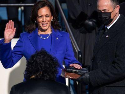 Kamala Harris hace historia como primera vicepresidenta