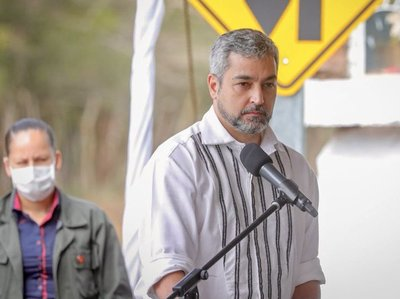 Mario Abdo cumplirá su jornada de trabajo en Guairá