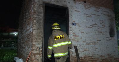 Una vivienda ardió en llamas en Fernando de la Mora