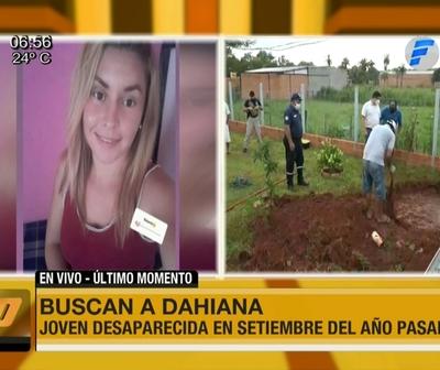 Intensa búsqueda de Dahiana Espinoza