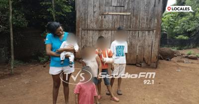Obligado: Joven madre solicita ayuda económica para sustentar a sus 5 hijos