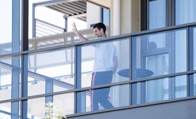 HOY / Djokovic dice que su carta fue malentendida a pesar de su buena intención
