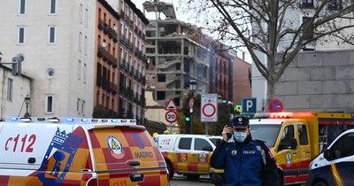 La Nación / Sube a cuatro el número de fallecidos en explosión por escape de gas en Madrid