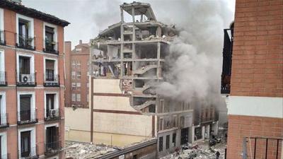 Explosión de gas en un edificio en Madrid – Prensa 5