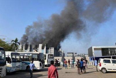 Incendio en la sede del mayor fabricante de vacunas del mundo – Prensa 5