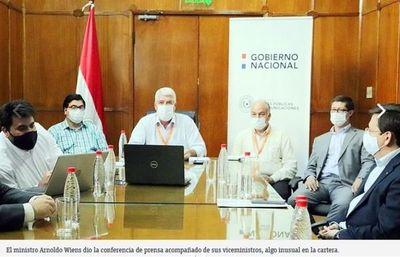 Ministro de Obras Públicas y Comunicaciones  afirma no saber qué hacía el cuñado de Marito en el MOPC