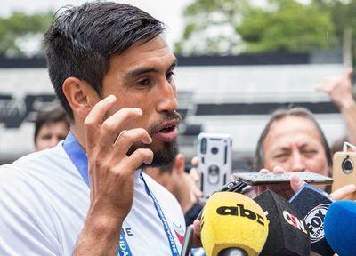 Olimpia presentó a Marcelo Estigarribia