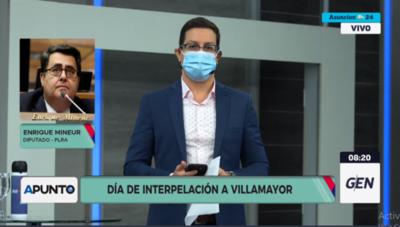 HOY / Diputado Enrique Mineur, sobre la interpelación a Juan Ernesto Villamayor