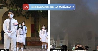 La Nación / Destacados de la mañana del 21 de enero