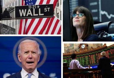 Bolsas mundiales al alza ante la posesión de Joe Biden como presidente de EEUU
