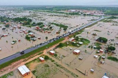 Expresidente de Itaipú responsabiliza a autoridades concepcioneras por no evitar inundación