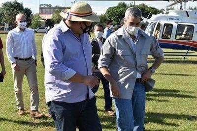 Marito reitera su compromiso de alejarse del proceso electoral