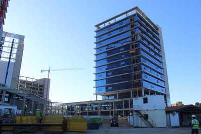 Construcción de oficinas de gobierno registra avance de 78%, según MOPC