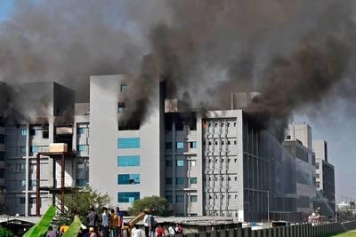 Incendio en la sede del mayor fabricante de vacunas en el mundo