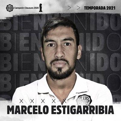 Oficial: 'Chelo' Estigarribia es nuevo jugador de Olimpia