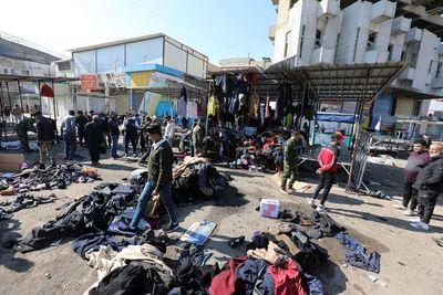 Al menos 32 muertos en doble atentado suicida en el centro de Bagdad