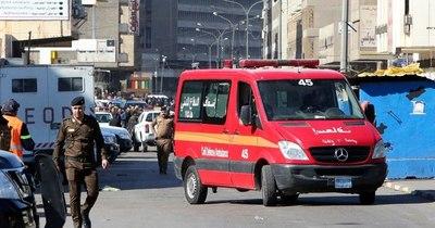 La Nación / Al menos 32 muertos en doble atentado suicida en el centro de Bagdad