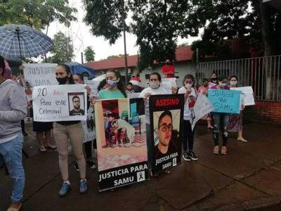 Familiares de niño muerto en accidente exigen cambio de carátula en Ciudad del Este