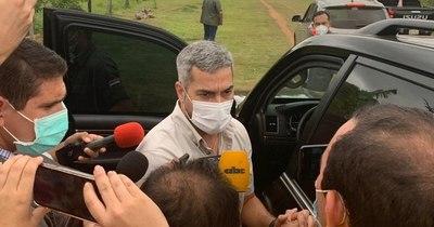 La Nación / Periodistas de Coronel Oviedo repudian actuar de la escolta presidencial