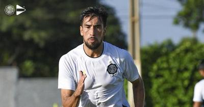 Marcelo Estigarribia ya activa con el plantel de Olimpia