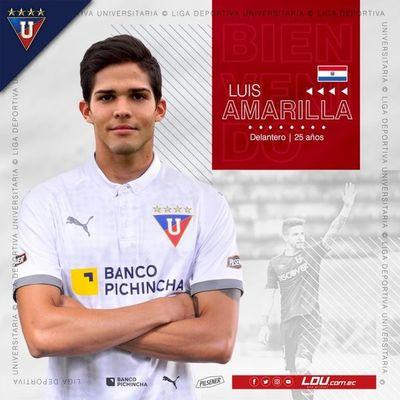 Amarilla ficha por Liga de Quito