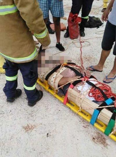 Empleado de fábrica de cortinas muere electrocutado en Ciudad del Este