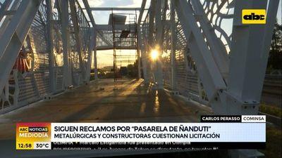 "Siguen reclamos por pasarela de ñandutí con exigencias ""ridículas"""