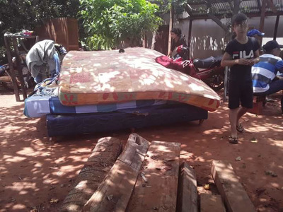 Arroyito: Desalojan a dos familias de un inmueble en Cuero Fresco