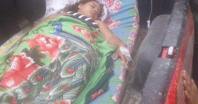La Nación / Inundación en el Chaco: dio a luz en su casa y fue trasladada al hospital en la carrocería de una camioneta