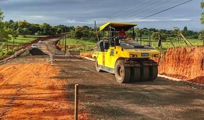 """Caazapá: Preparan los últimos kilómetros para asfaltar la """"Ruta de la Producción"""""""