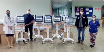IPS suma 8 respiradores para potenciar el Hospital Integrado en Alto Paraná.