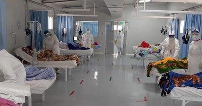 La Nación / COVID-19: tras 24 altas en 2 días, el Hospital de Itauguá volvió a internar a 15 pacientes
