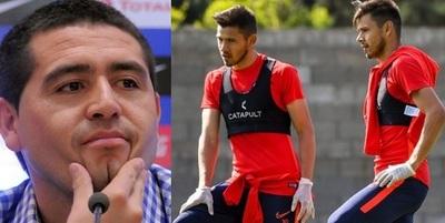 Riquelme llamó a los Romero, dicen en Argentina