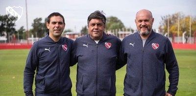 Un paraguayo integra el nuevo cuerpo técnico de Independiente