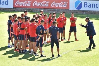 Con los Romero al frente, Dabove se presentó en San Lorenzo